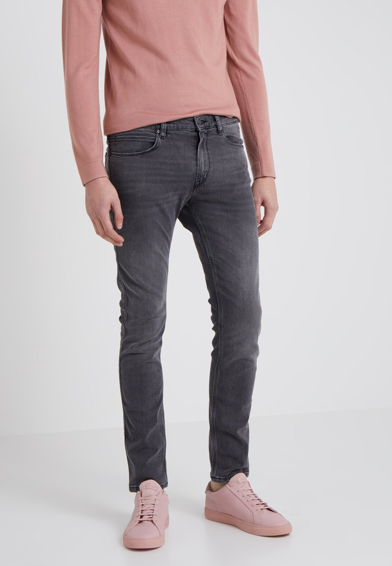 HUGO - Slim fit jeans - medium grey