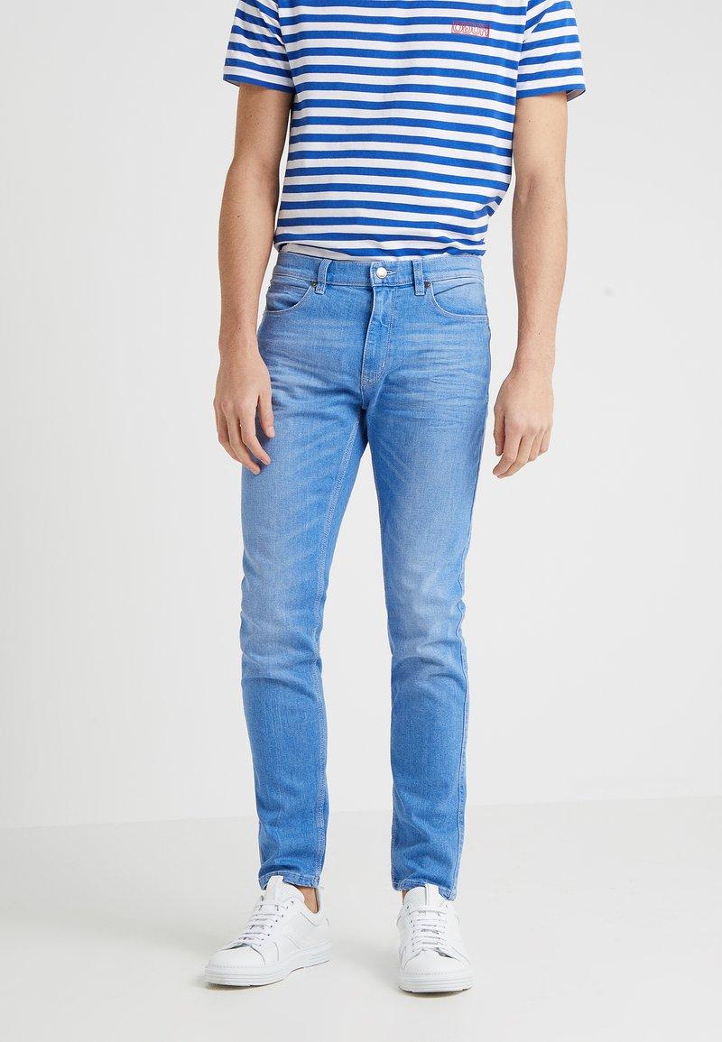 HUGO - Slim fit jeans - turquoise/aqua