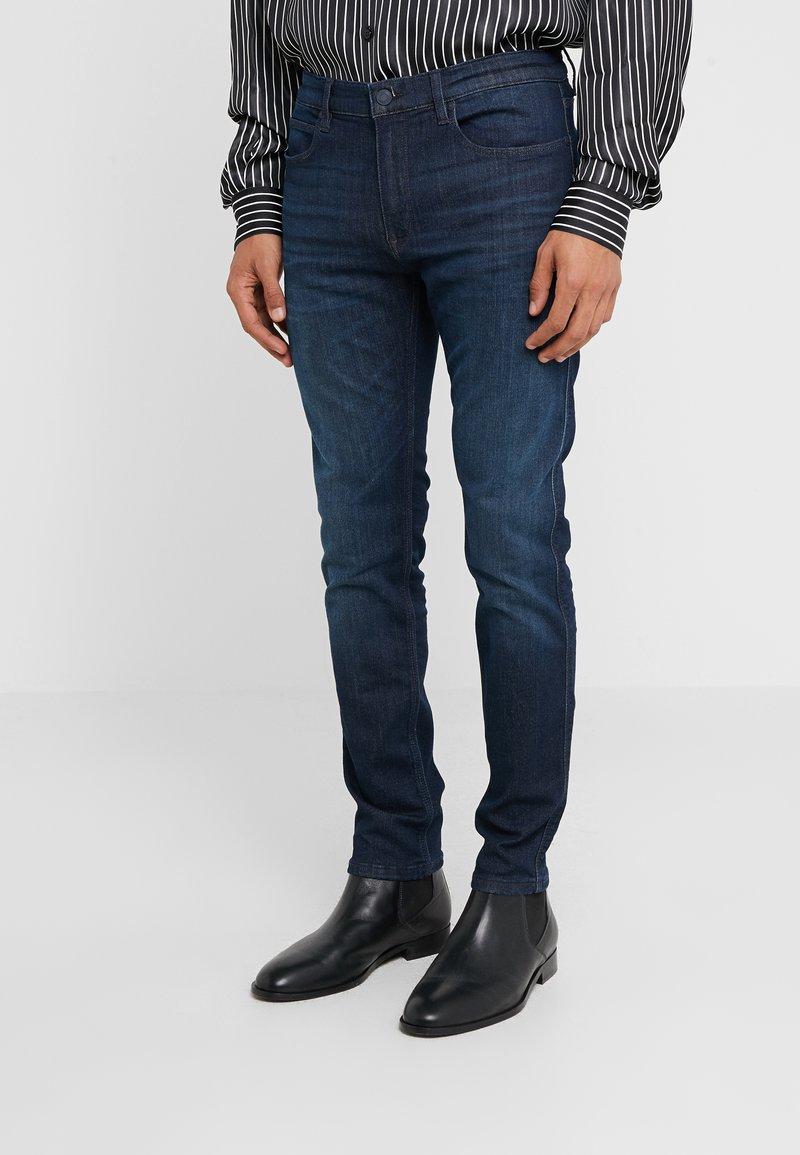 HUGO - Slim fit jeans - dark blue