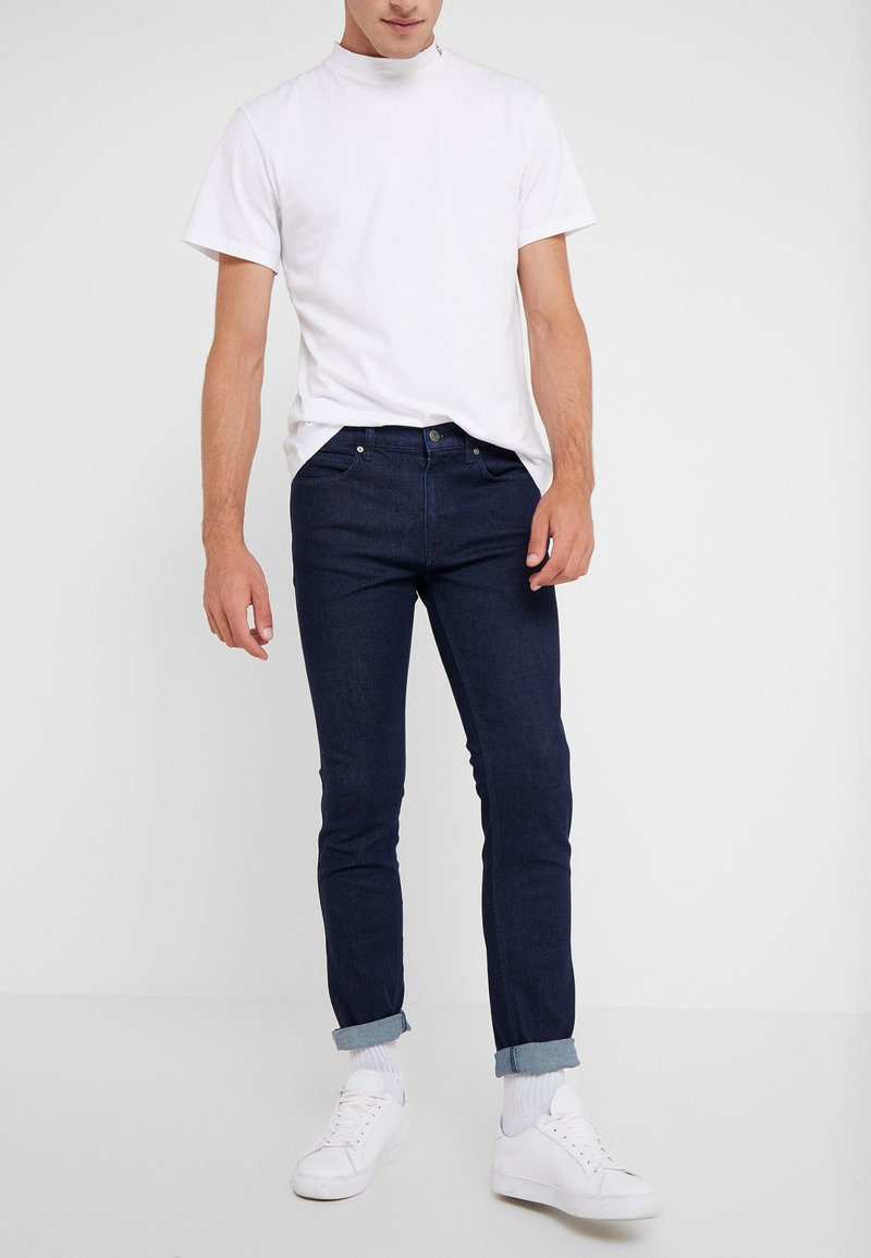 HUGO - Džíny Slim Fit - dark blue