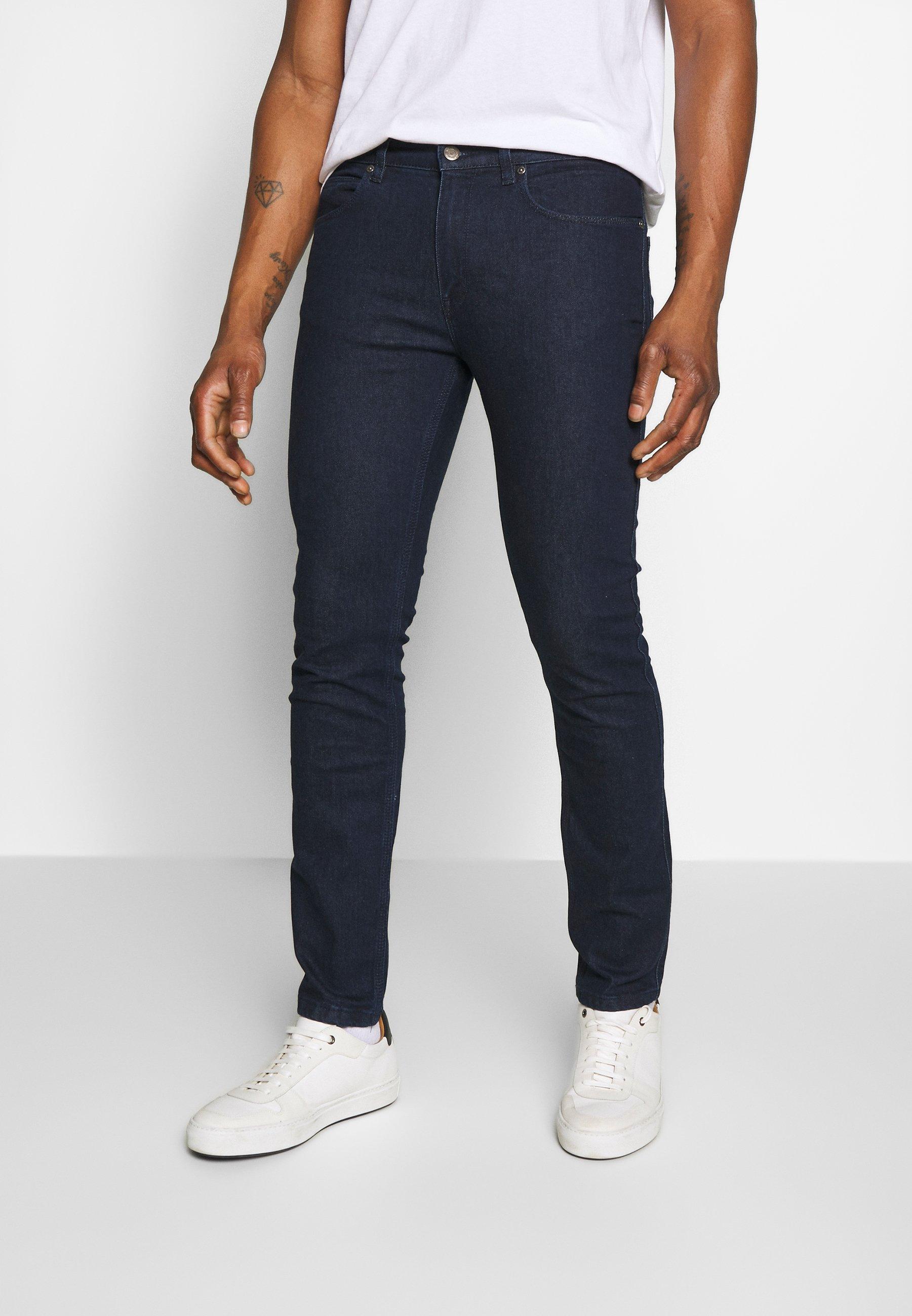 HUGO Jeansy Slim Fit - dark blue