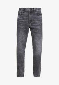 HUGO - Zúžené džíny - charcoal - 4