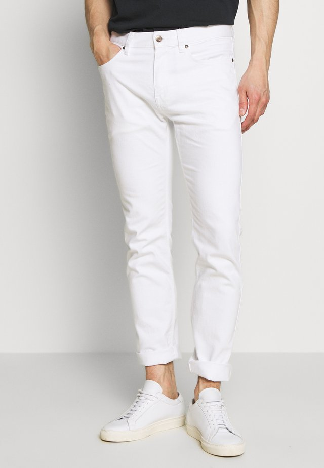 Jeansy Slim Fit - white