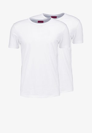 2 PACK - Camiseta básica - white