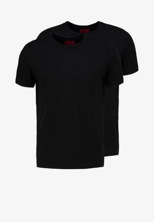 2 PACK - Camiseta básica - black