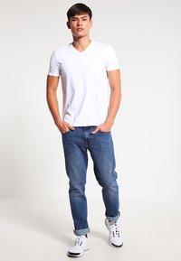 HUGO - 2 PACK - T-shirt basique - white - 0