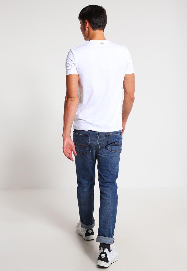 PackT Hugo 2 shirt Basique White 5ARj4L3