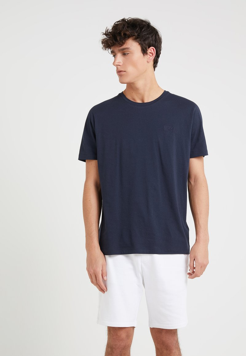 HUGO - DERO - Basic T-shirt - navy