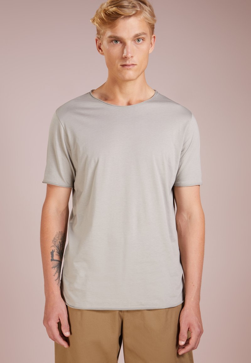 HUGO - DEPUSI - T-shirt imprimé - medium grey
