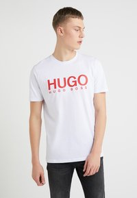 HUGO - DOLIVE - Camiseta estampada - white - 0