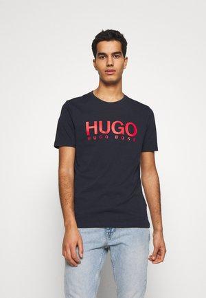 DOLIVE - Camiseta estampada - navy