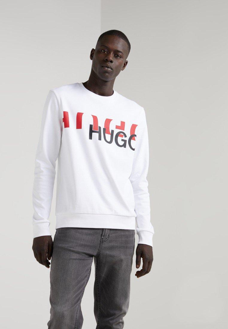 HUGO - DICAGO - Sweatshirt - weiß