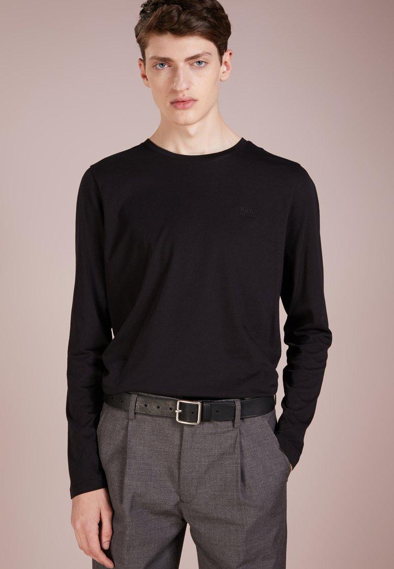 HUGO - DEROL - Long sleeved top - black