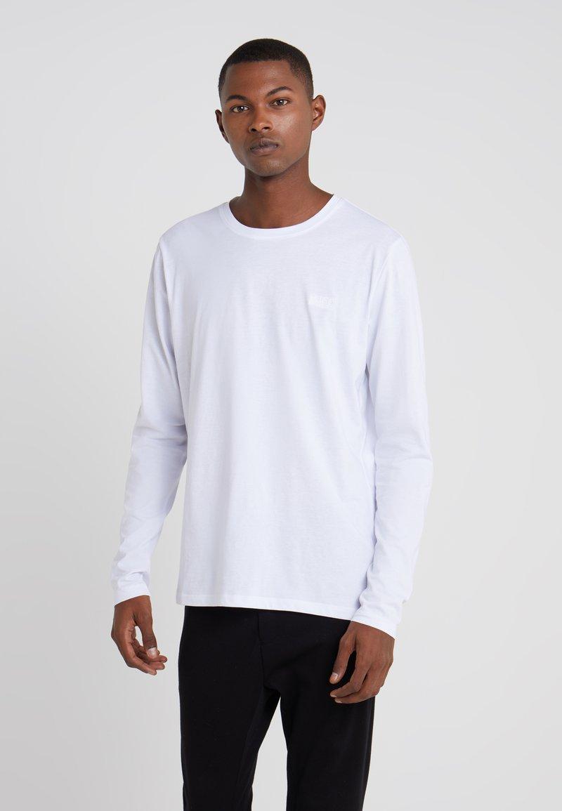 HUGO - DEROL - Bluzka z długim rękawem - white