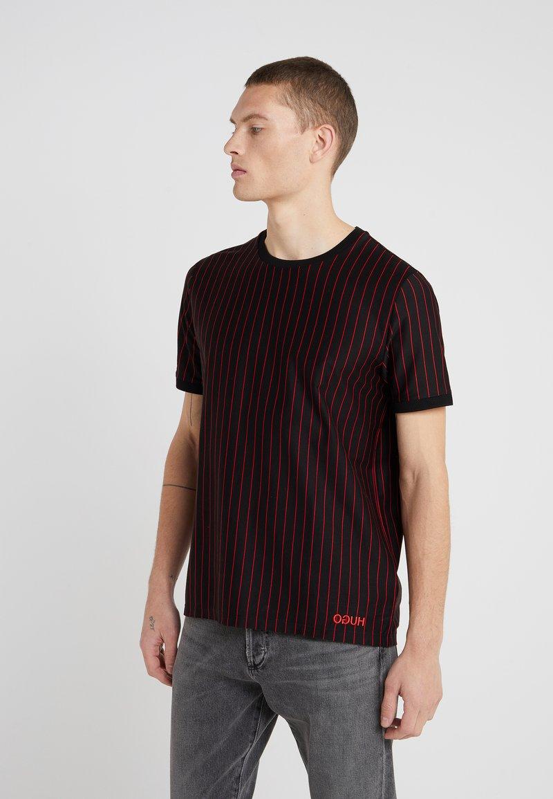 HUGO - DRIESTE - T-Shirt print - black