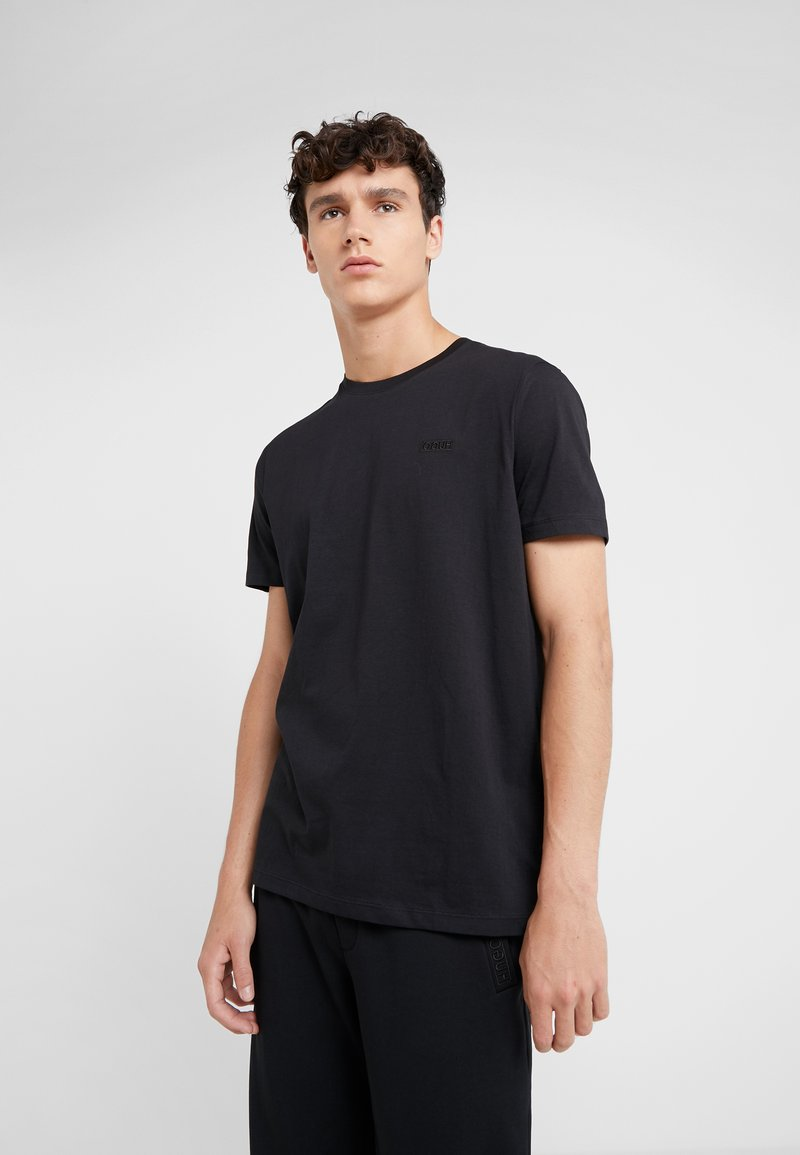 HUGO - DERO - Basic T-shirt - black