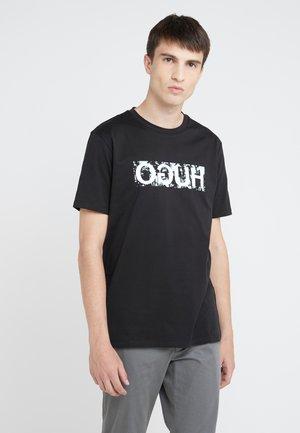 DICAGOLINO - Camiseta estampada - black