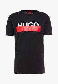 HUGO - DOLIVE - T-shirt imprimé - black - 4
