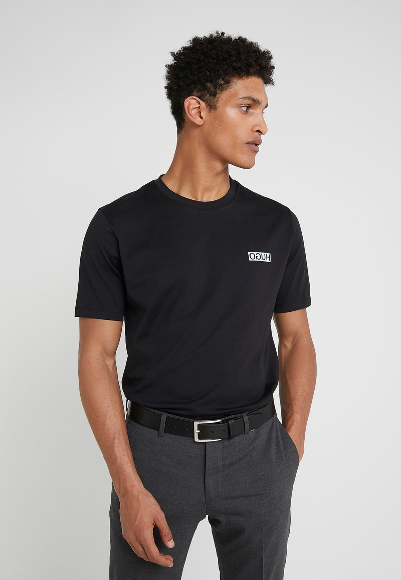 HUGO - DURN - T-Shirt basic - black