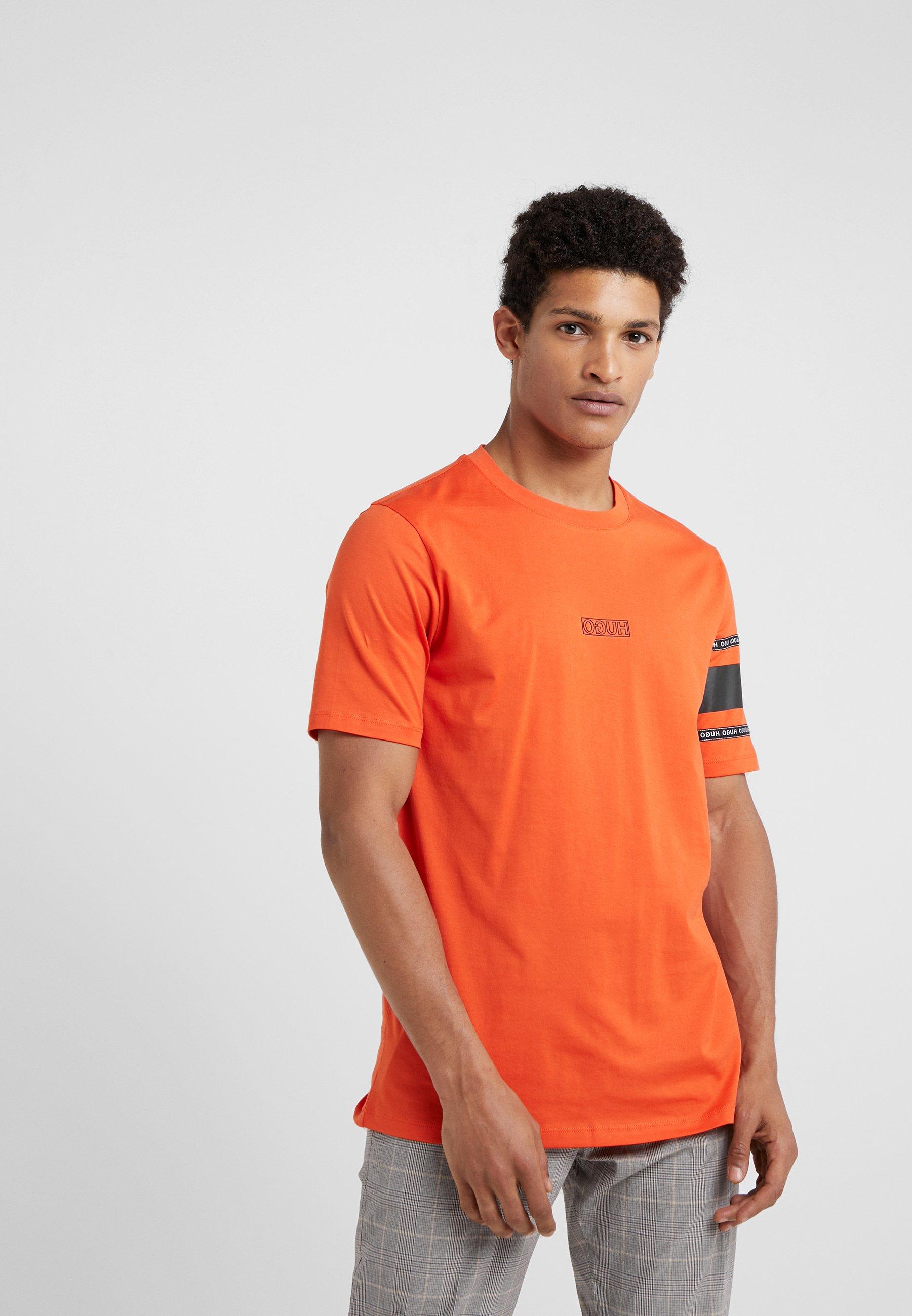 DurnedT Imprimé shirt Hugo Orange Dark oWdCrexB