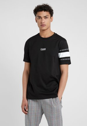 DURNED - Print T-shirt - black