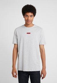 HUGO - DURNED - T-shirt print - open grey - 0