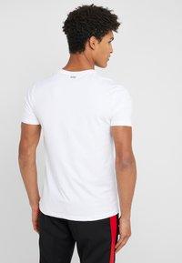 HUGO - ROUND  - T-shirt basique - black/white - 2