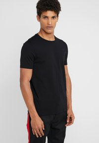HUGO - ROUND  - T-shirts basic - black/white - 3
