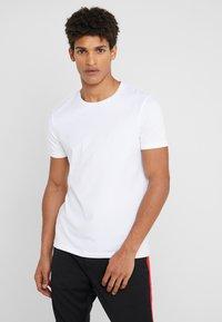 HUGO - ROUND  - T-shirt basique - black/white - 1