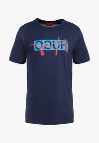 HUGO - DICAGOLINO - T-shirt print - dark blue - 4