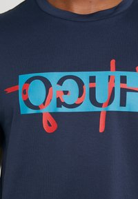 HUGO - DICAGOLINO - T-shirt print - dark blue - 5