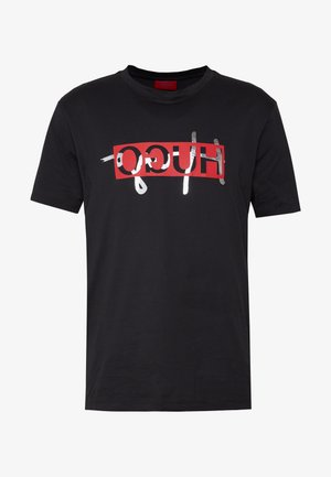DICAGOLINO - T-shirt con stampa - black