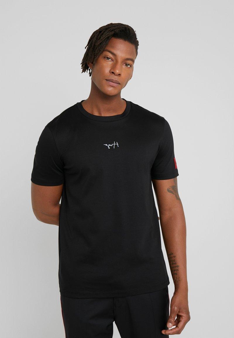 HUGO - DURNED - T-shirt print - black