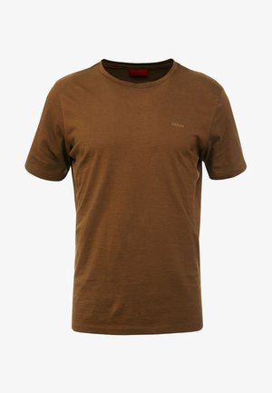 DERO - T-shirt basic - medium brown