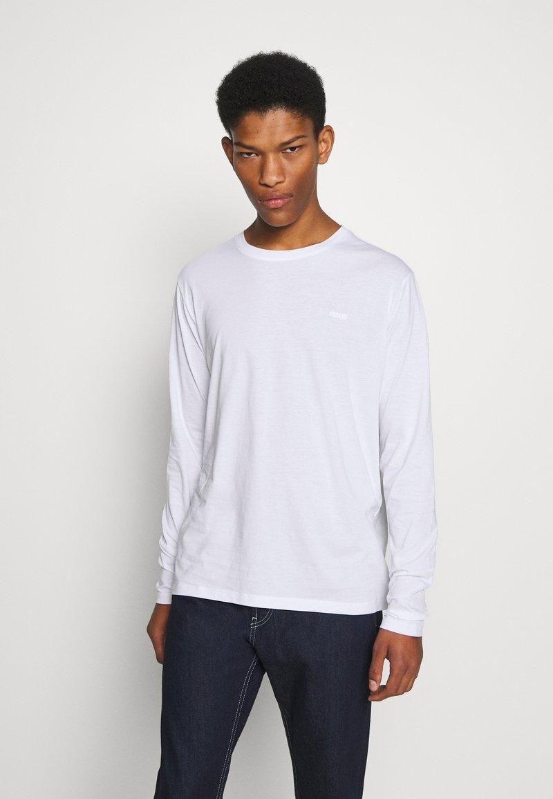 HUGO - Long sleeved top - white