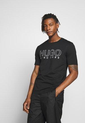 DOLIVE - T-shirt imprimé - black