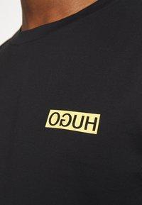 HUGO - DURNED - T-shirt basic - black - 5