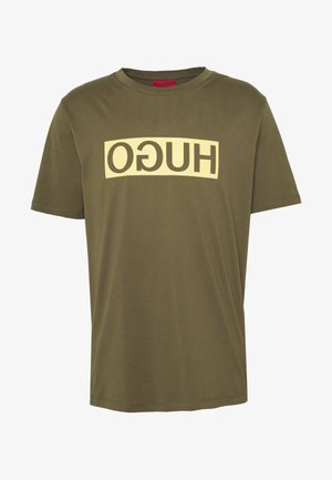 DICAGOLINO - T-shirt z nadrukiem - dark beige