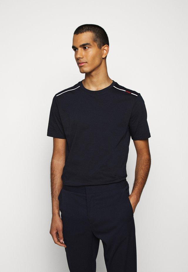DYRTID - T-shirts med print - dark blue