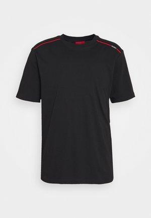 DYRTID - Camiseta estampada - black