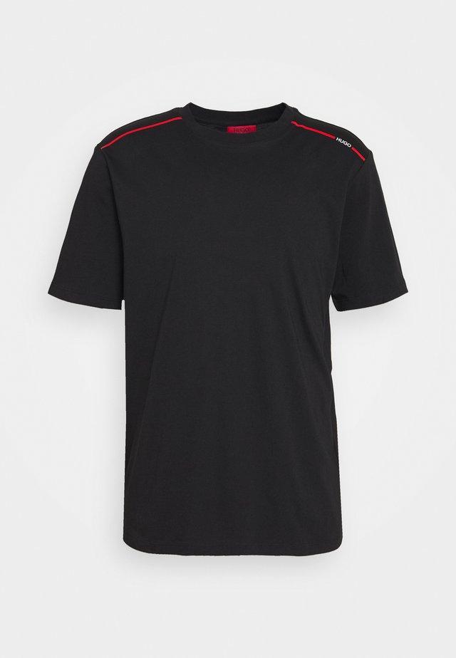 DYRTID - T-shirt print - black
