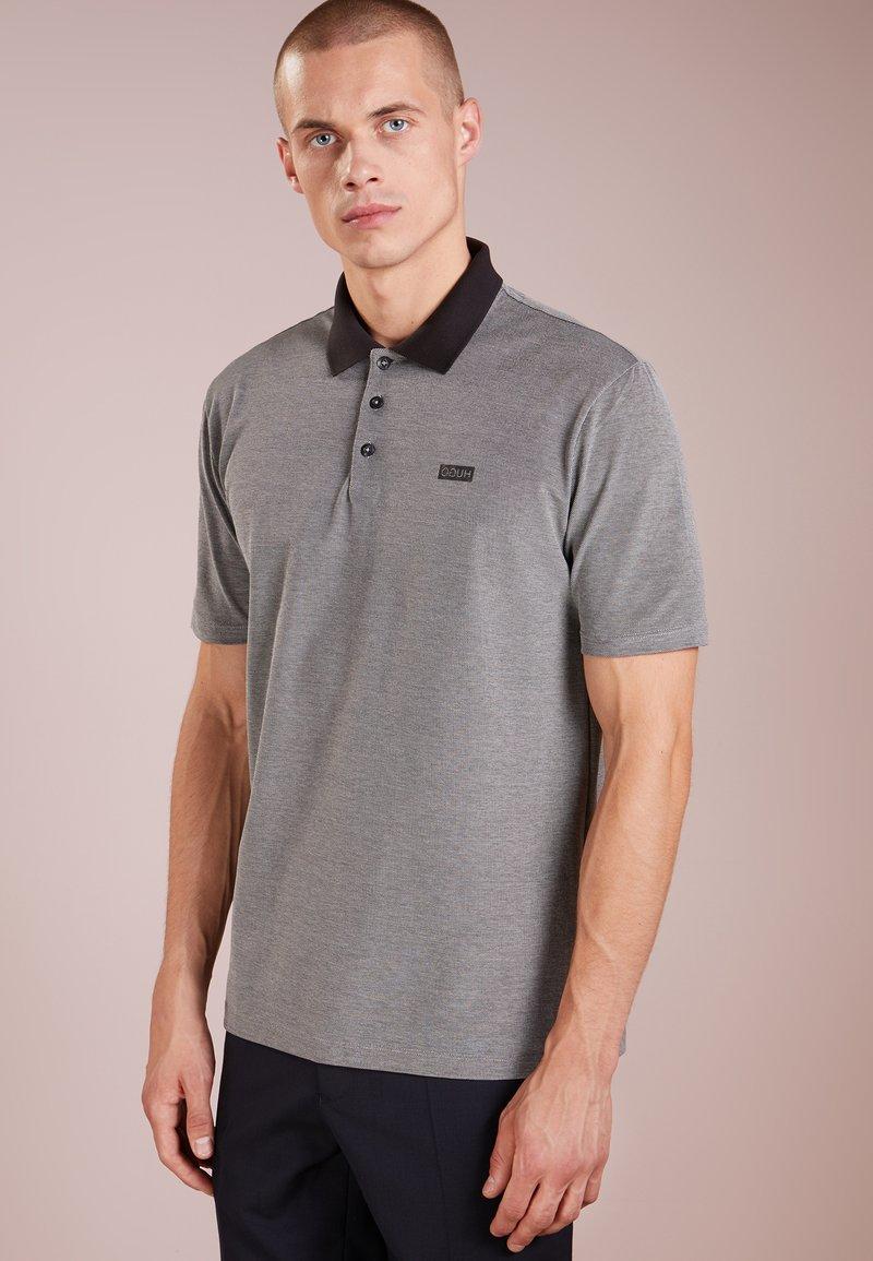 HUGO - DEWLETT - Koszulka polo - black
