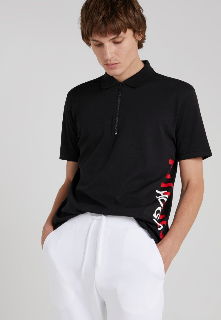 HUGO - DAZEL - Polo shirt - schwarz