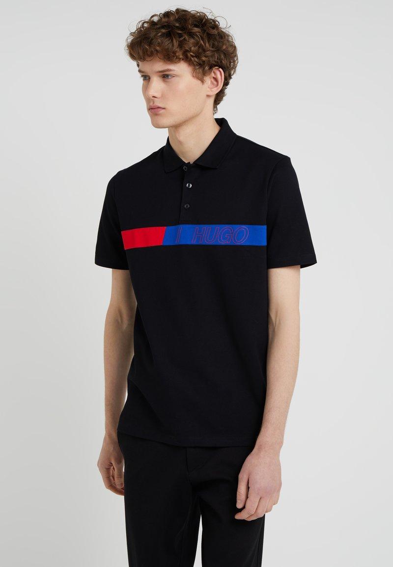HUGO - DANTES - Poloshirt - black