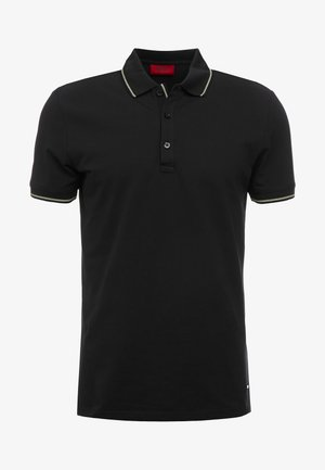 DINOSO SLIM FIT - Polo - black