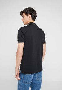 HUGO - DINOSO SLIM FIT - Polotričko - black - 2