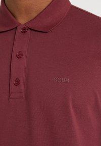 HUGO - DONOS - Poloshirt - dark red - 7