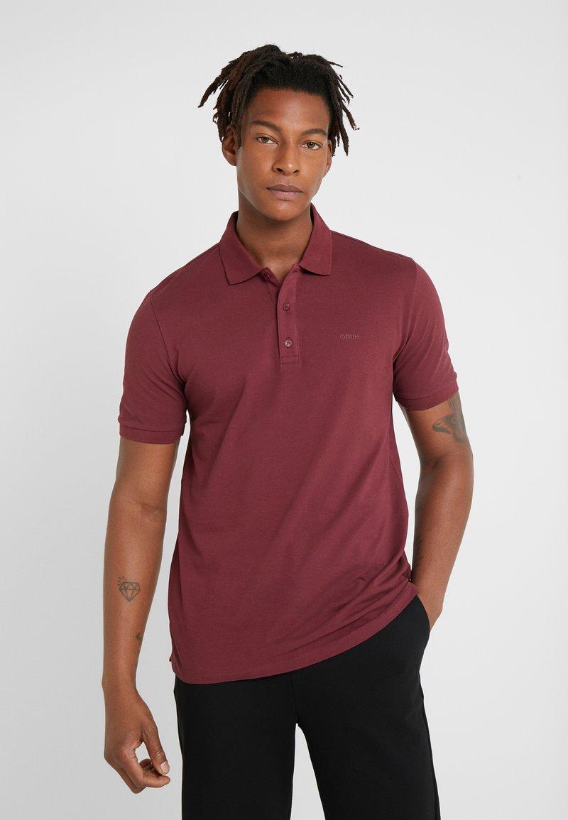 HUGO - DONOS - Poloshirt - dark red