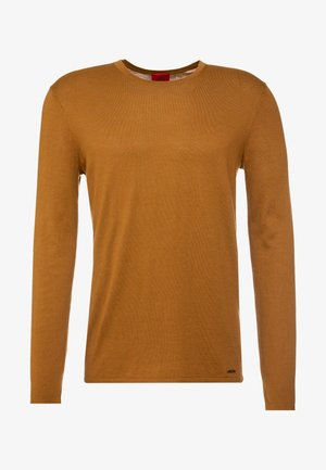 SAN BASTIO - Stickad tröja - cognac