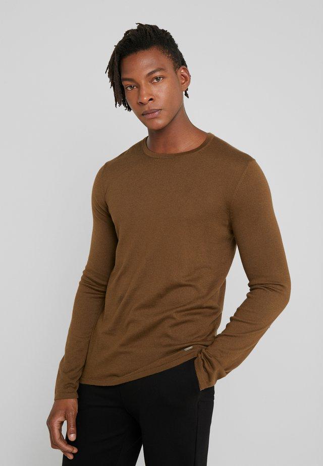 SAN BASTIO - Pullover - medium brown